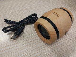 Altavoz Bluetooth y SD card