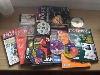 Lote de revistas de informática antiguas