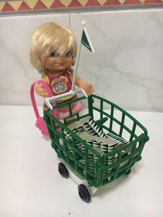 Muñeca Barriguitas de compras
