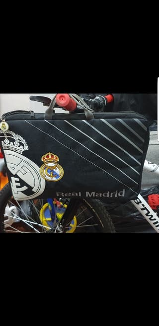 Bolso real madrid para portatil