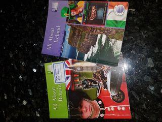 Libros de inglés.