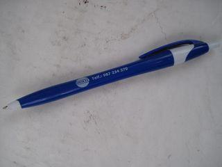 bolígrafo publicitario azul coelsa s.a.