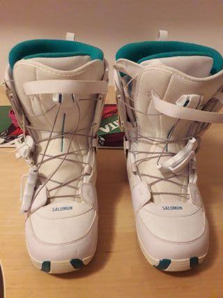 Botas snowboard salomon