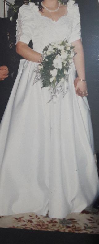 vestido de novia de segunda mano en la provincia de a coruña en wallapop