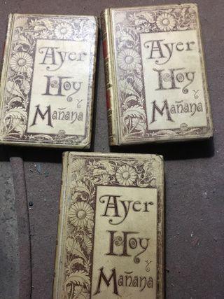 Libros Ayer, Hoy y Mañana 1893