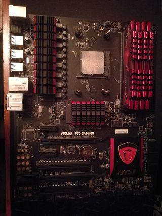 Placa base+procesador