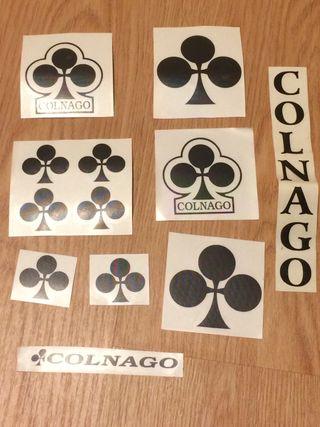 Pegatinas vinilo Colnago Look Pinarello