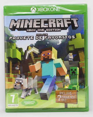 Minecraft + Paquete de Favoritos XBOX One nuevo