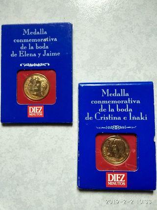 medallas o monedas