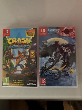 Pack de juegos Nintendo switch