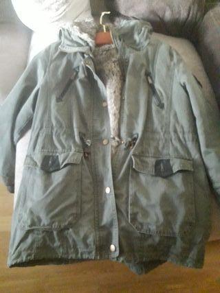 Abrigo verde militar tallaL
