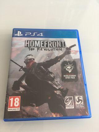 Vendo o cambio Homefront PS4