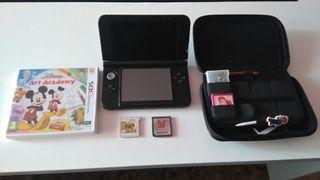 Nintendo 3DS XL + 150 juegos