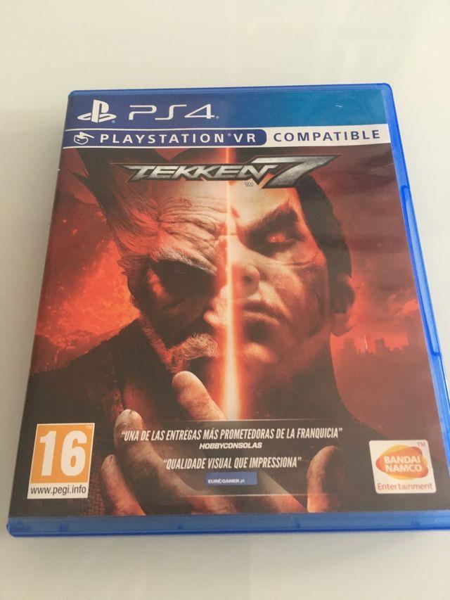 Vendo o cambio Tekken 7 PS4