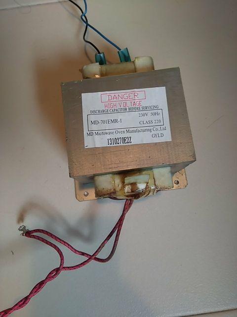 Transformador de microondas