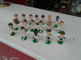 Figuras Equipo de fútbol Real Madrid Año 2000