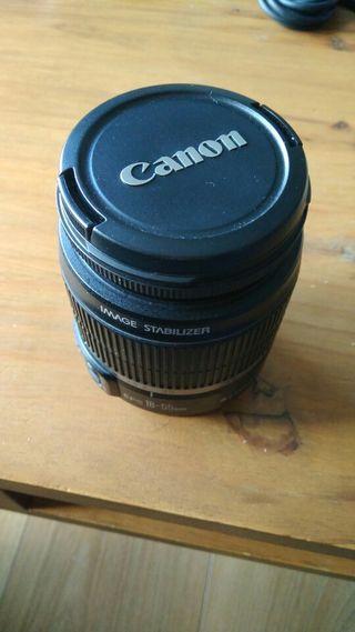 Objetivo gran angular - Canon - EF-S 18-55mm/3.5-5