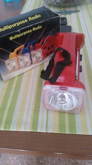 linterna radio