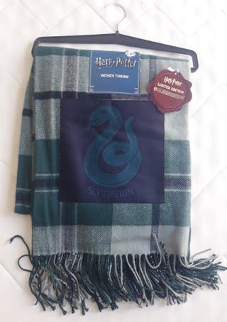 Harry Potter Slytherin Fular Manta.