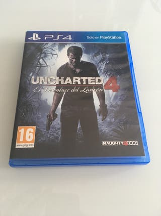 Vendo o Cambio Uncharted 4 PS4