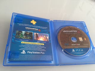 Vendo o Cambio Uncharted 4 PS4