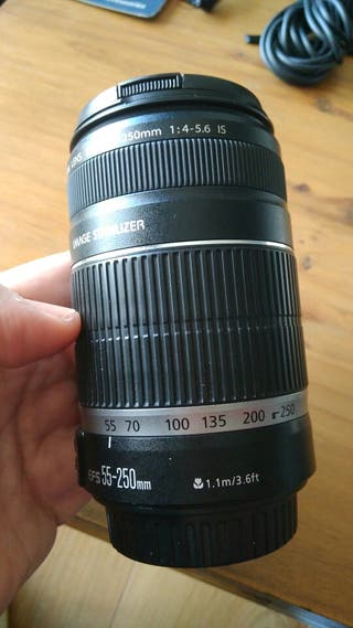 Tele Objetivo 55-250mm - Canon