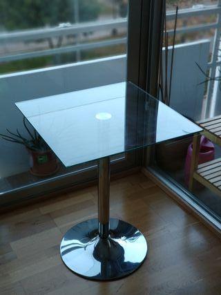 Mesa de cristal 60x60
