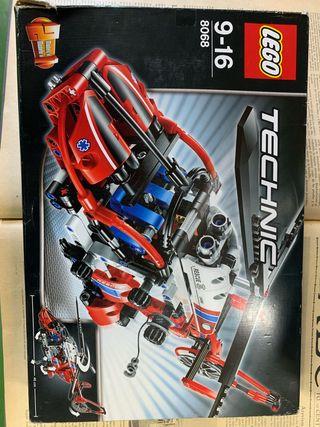Helicóptero de rescate LEGO