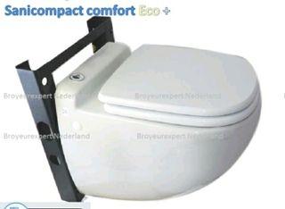 wc suspendido (triturador) nuevo sin uso