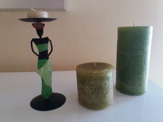 velas (3 velas)