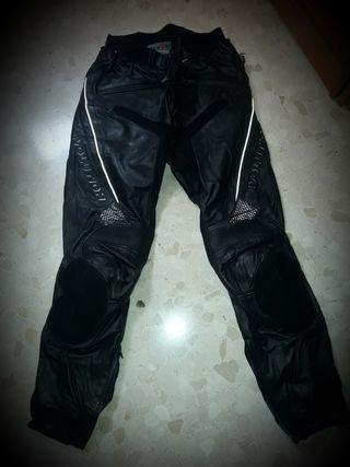 Pantalón de cuero evolution, talla 52 o 42