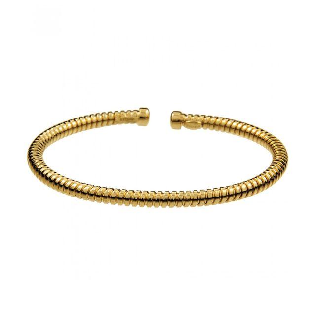 3faecbc9255c Pulsera dorada tubogas de Aristocrazy de segunda mano por 68 € en ...