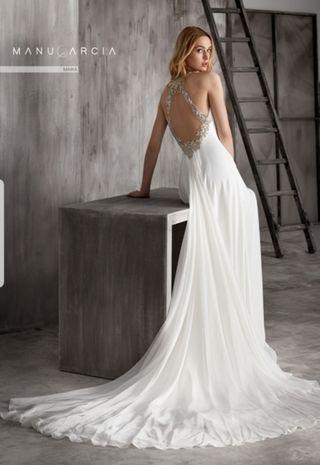 vestido de novia talla 38 de segunda mano en córdoba en wallapop