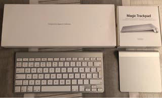 Teclado Apple Wireless & Magic trackpad