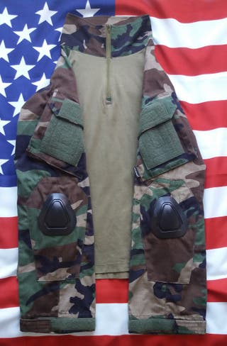 Airsoft Uniforme Woodland