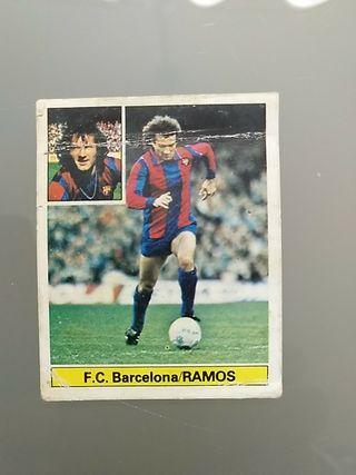 Cromo Liga Este Barcelona 81 82 Ramos