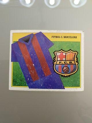 Cromo Barcelona Liga Este 91 92
