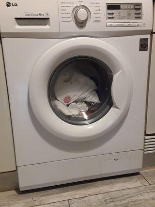 lavadora LG .muy nueva. con garantía.