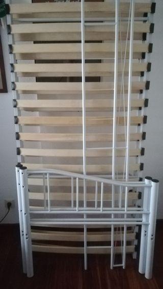 Cama nido matrimonio de segunda mano en wallapop for Estructura cama nido 105