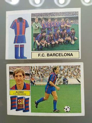 Cromos Liga Este 82 83 Barcelona