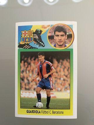 Cromo Guardiola Barcelona Liga Este 93 94