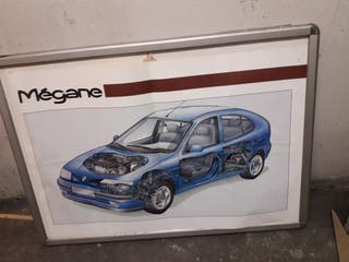 Marco con poster Renault Megane