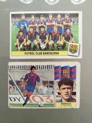 Cromos Barcelona Liga este 86 87