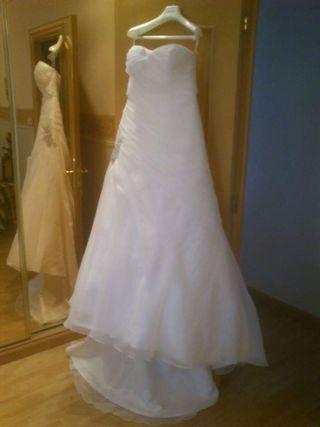 vestido de novia de segunda mano en zaragoza en wallapop
