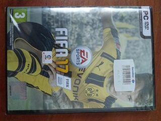 Videojuego NUEVO A ESTRENAR FIFA17