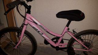 Bicicleta marchas niña