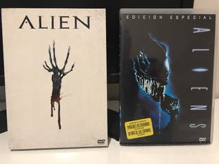 Alien Pack DVD.