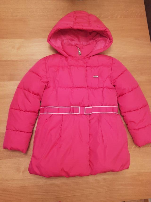 fb0ed659d Abrigo niña talla 8 Freestyle rosa de segunda mano por 5 € en Madrid ...