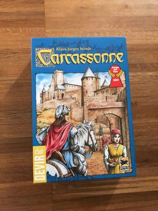 Juego mesa carcassonne