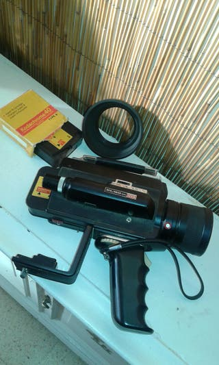 cámara video antigua super 8